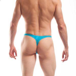 BEUN BASIC STRING Eisblau, Blau, Hellblau, Himmelblau. Sexy exotisch. Dieser knappe BEUN String zieht Blicke auf sich. So bequem unter der Jeans, aber viel zu schade, um ihn immer zu verstecken. Endlich gibt es einen luftig, leichten String für den Alltag und zum Baden.