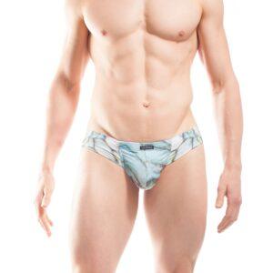 Laggon Mini Hipster, brief, shorts, Unterhose, slip, Männer, Herren, Unterwäsche, sexy, knapp, Only for Me, hellblau