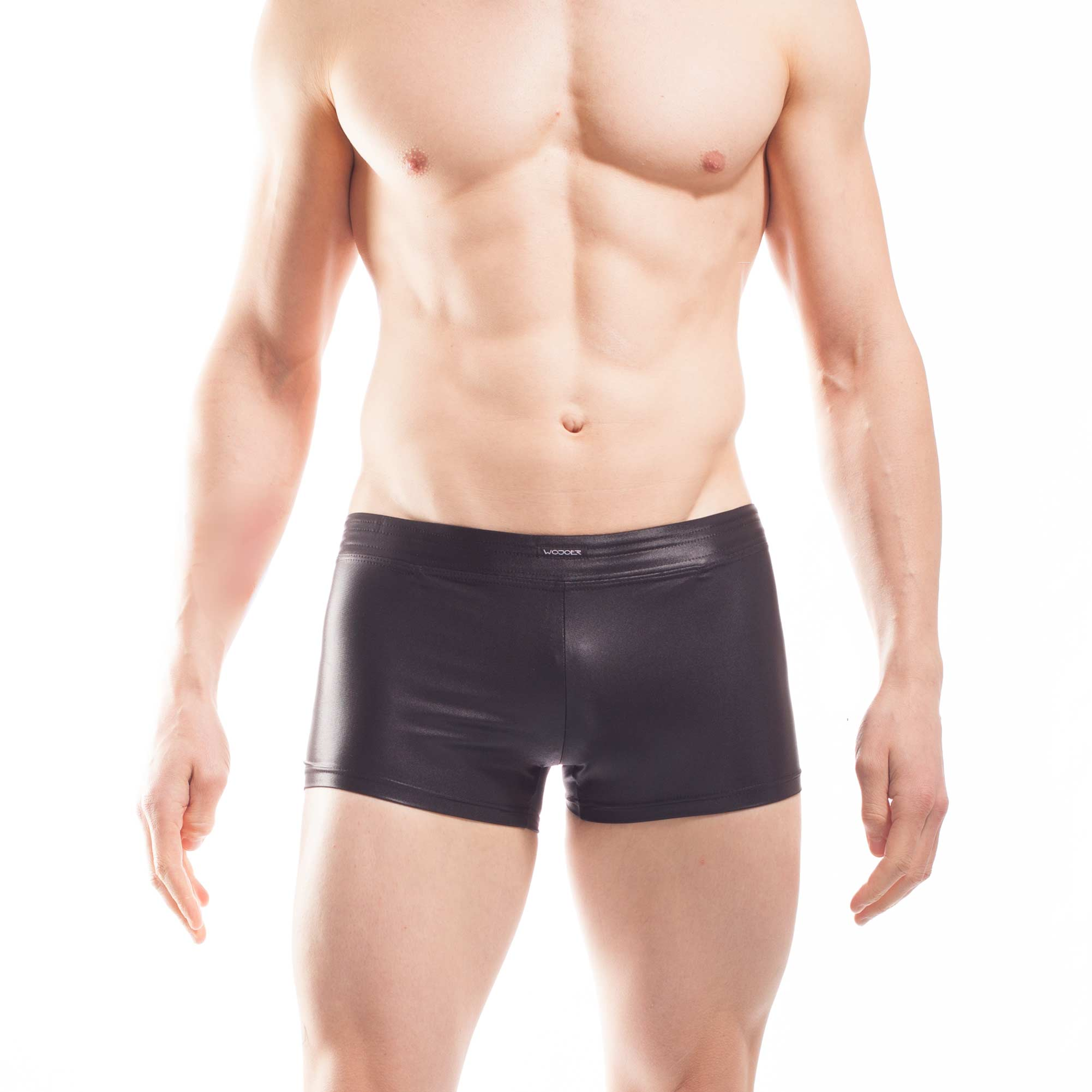 Beach wet Badeshorts, Wetbeach Bade Pants, Glanz, Silky touch, Badehose, Bade shorts, Bade pants, schwarz, matt schimmernd