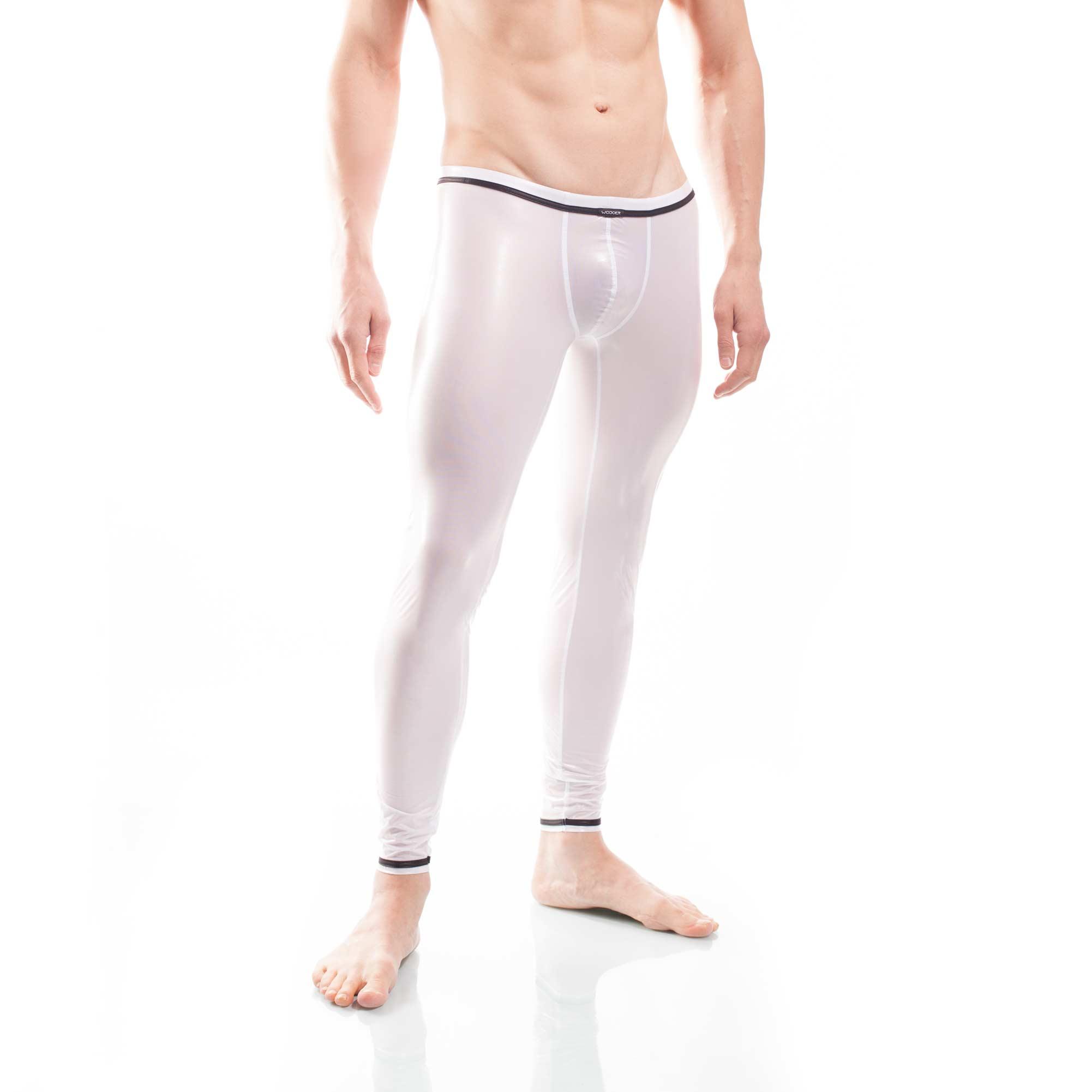 synthetische Latex Pants, synthetischer rubber, weiße wasserdichte Netz-Gummi Leggings