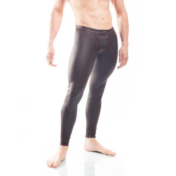 schwarze leggings mit mattem kunstleder, Synlex, mattes Lederimitat, super dehnbares Letherlike, fein dünnes Kunstleder, Shorts, schwarz, Pants, Clubwear, Unterhose, Leggings, Lederimitat Hose