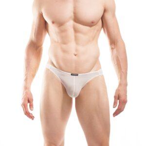 Basic Slip, BEUN Basic, Beach and underwear, badetauglich, Cheeky Slip, Brief, Pants, Shorts, Unterhose, crema, creme, weiß