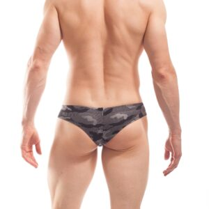 bade mini hipster camouflage beach silber