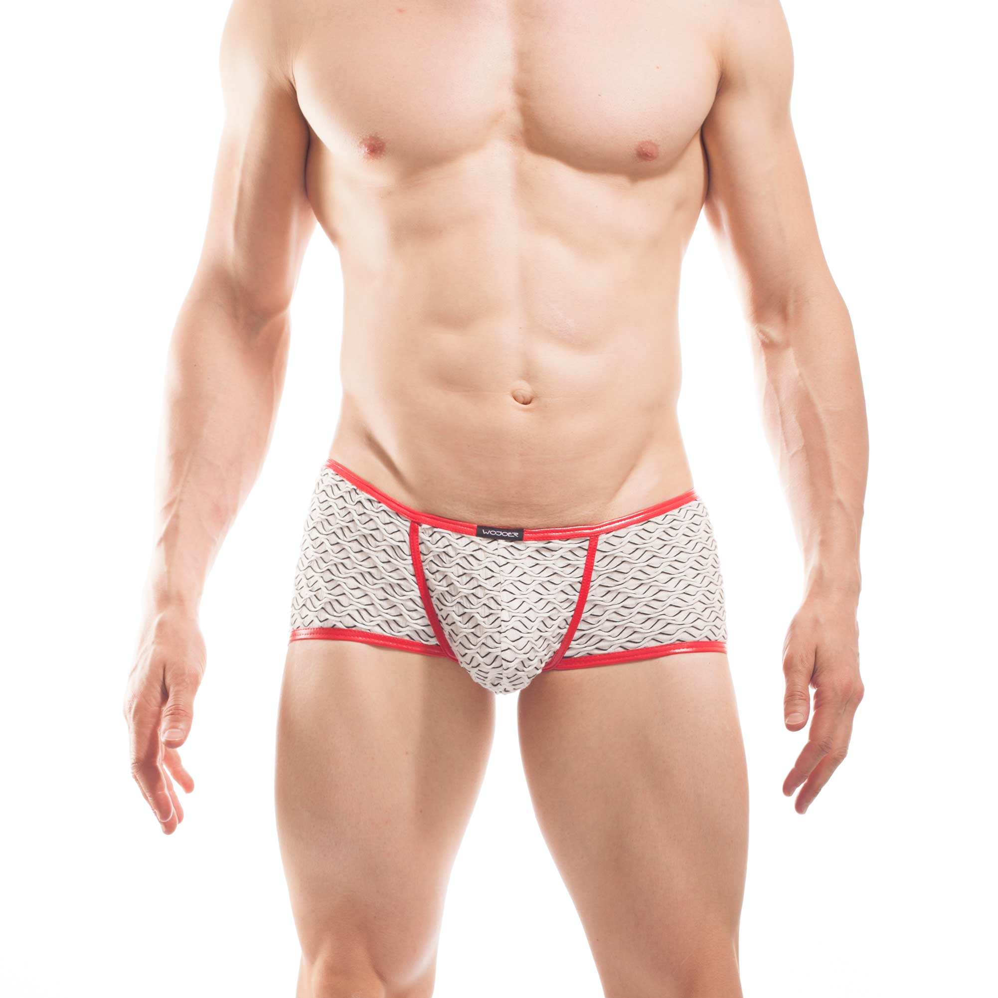3D struktur pants, white waves, baumwoll Pants, 3D Material, Rippmaterial,