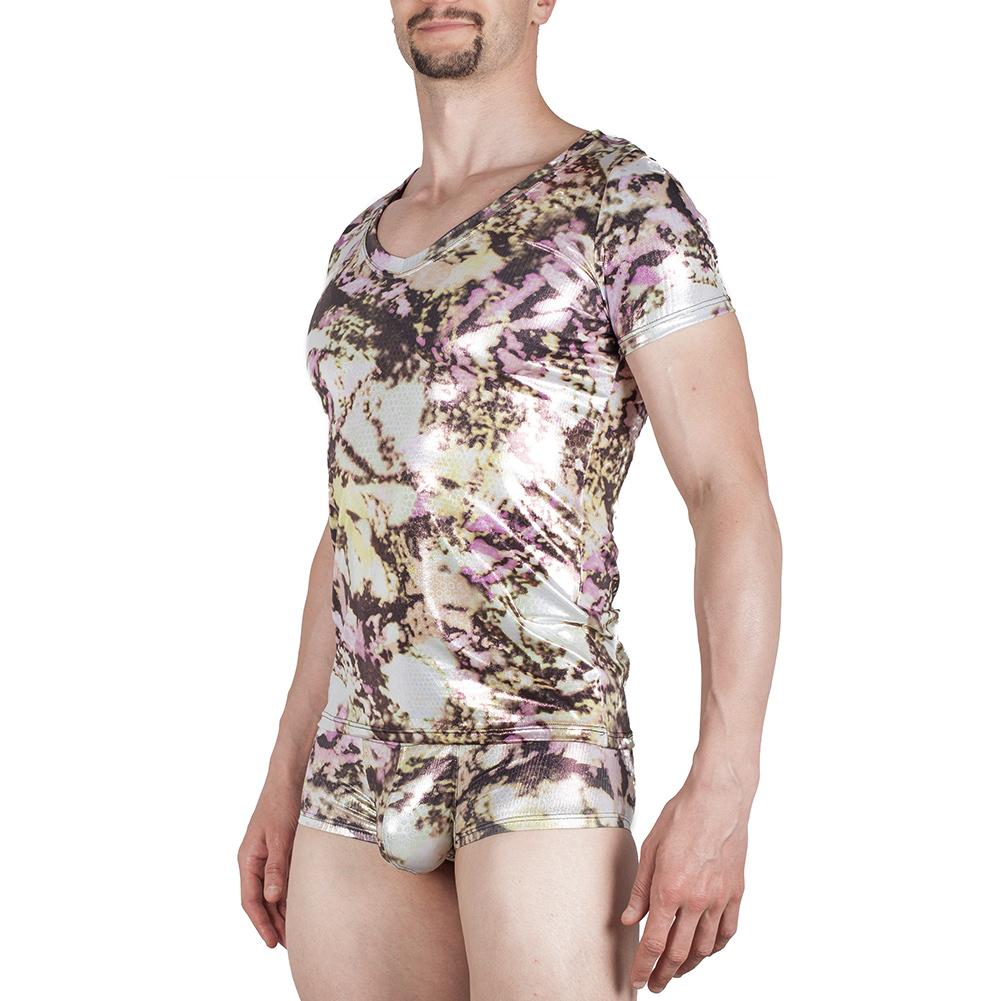Pool glanz shirt, clubwear, wett, glanz