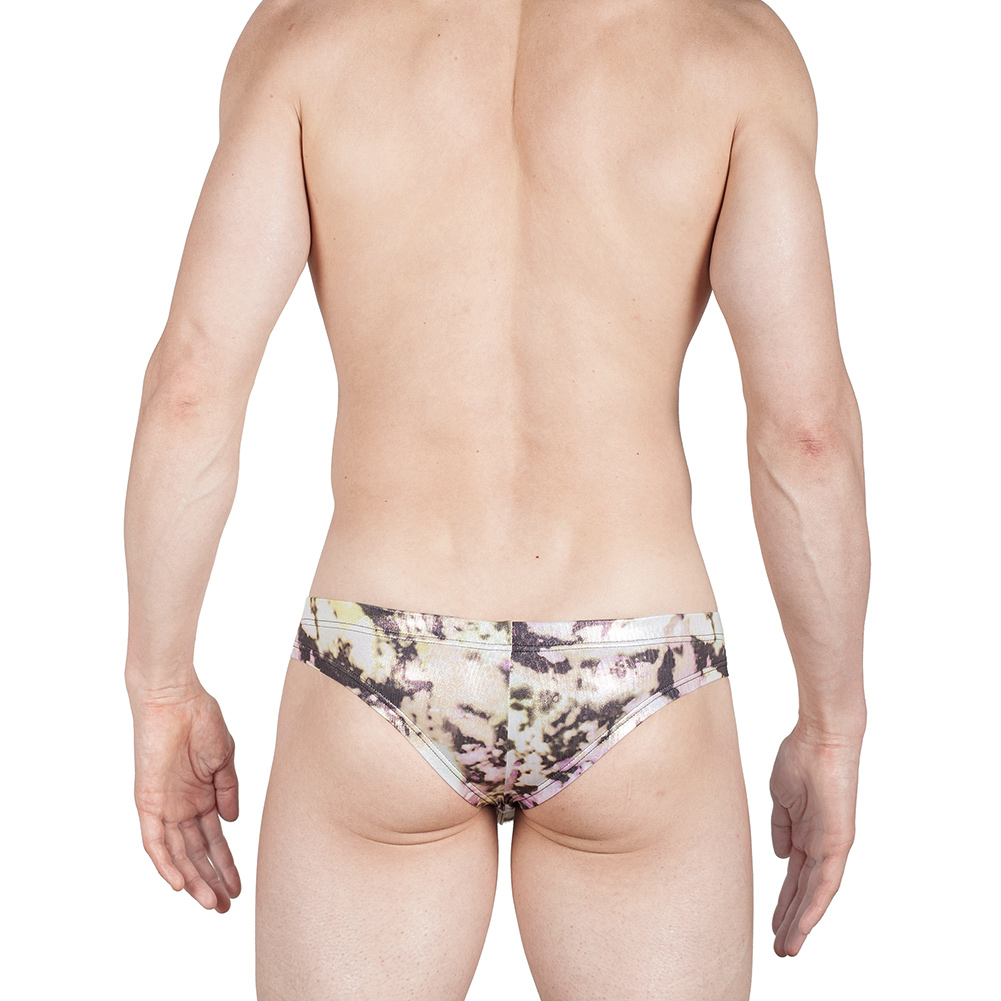 Pool glanz brief, mini hipster, clubwear, wett, glanz