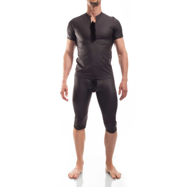 FurIro Letherlike Fell Shirt schwarz