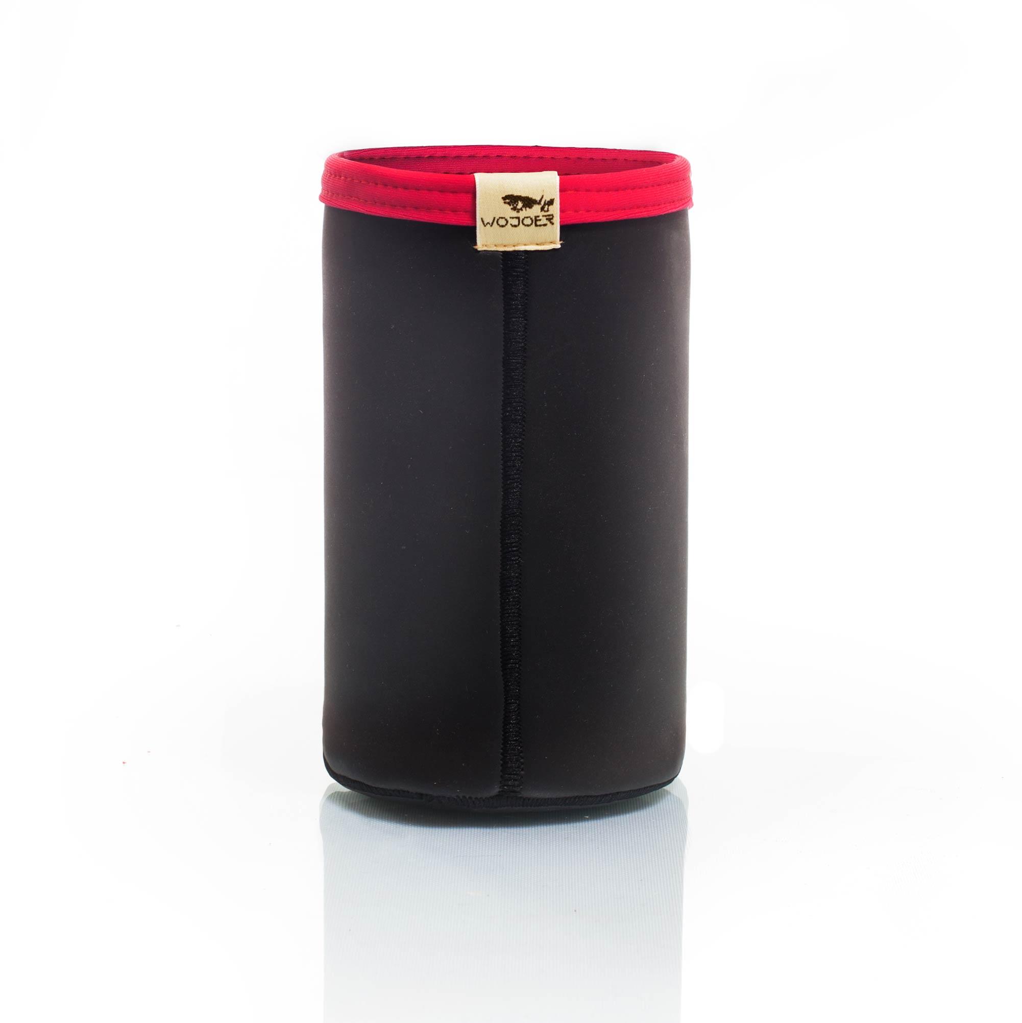 Flaschenkühler, Sektkühler, Weinkühler Champagner Kühler, Neopren, rot