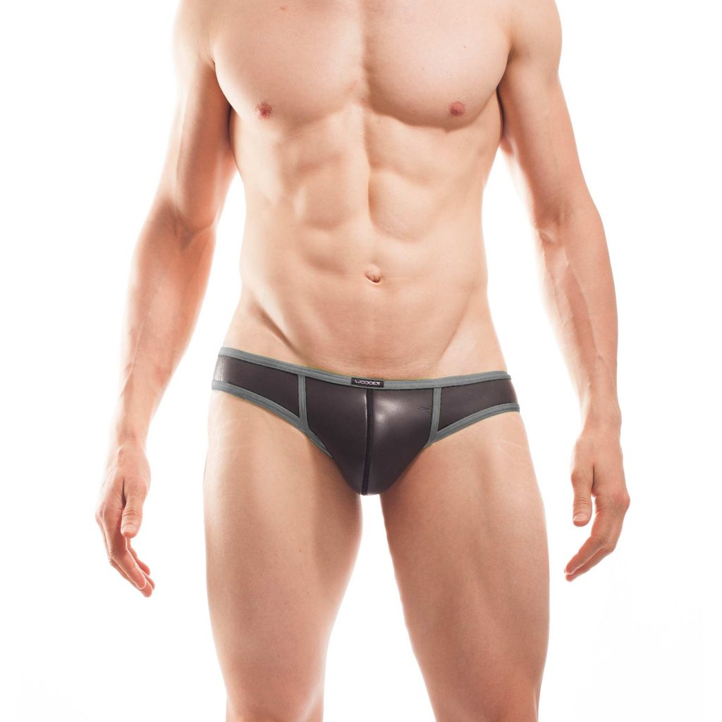 Neopren Slip Neopren Mini Hipster, pant, short pant, sloggi, boxer, briefs, titanio grau