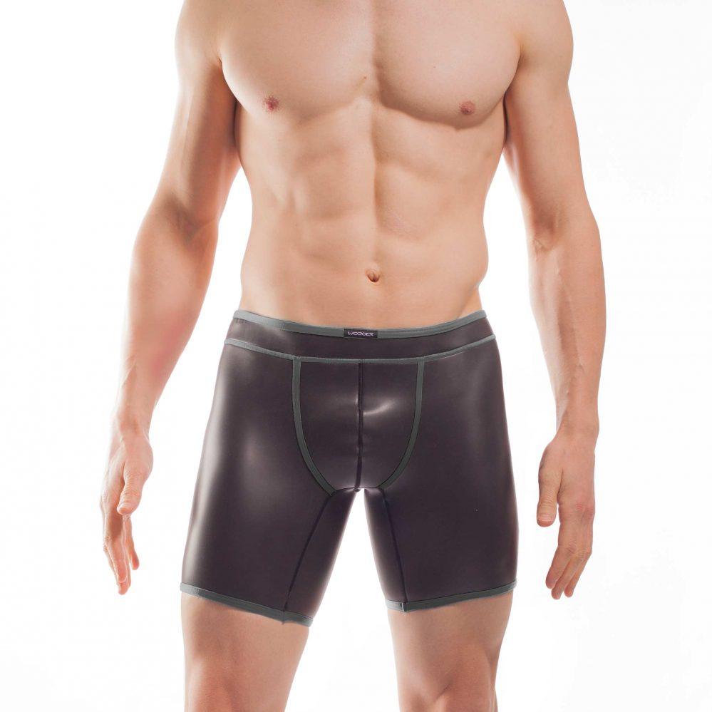 NEOPREN LONGPANTs, neopren, shorts, enganliegende Badehose, swim trunks, titanio grau