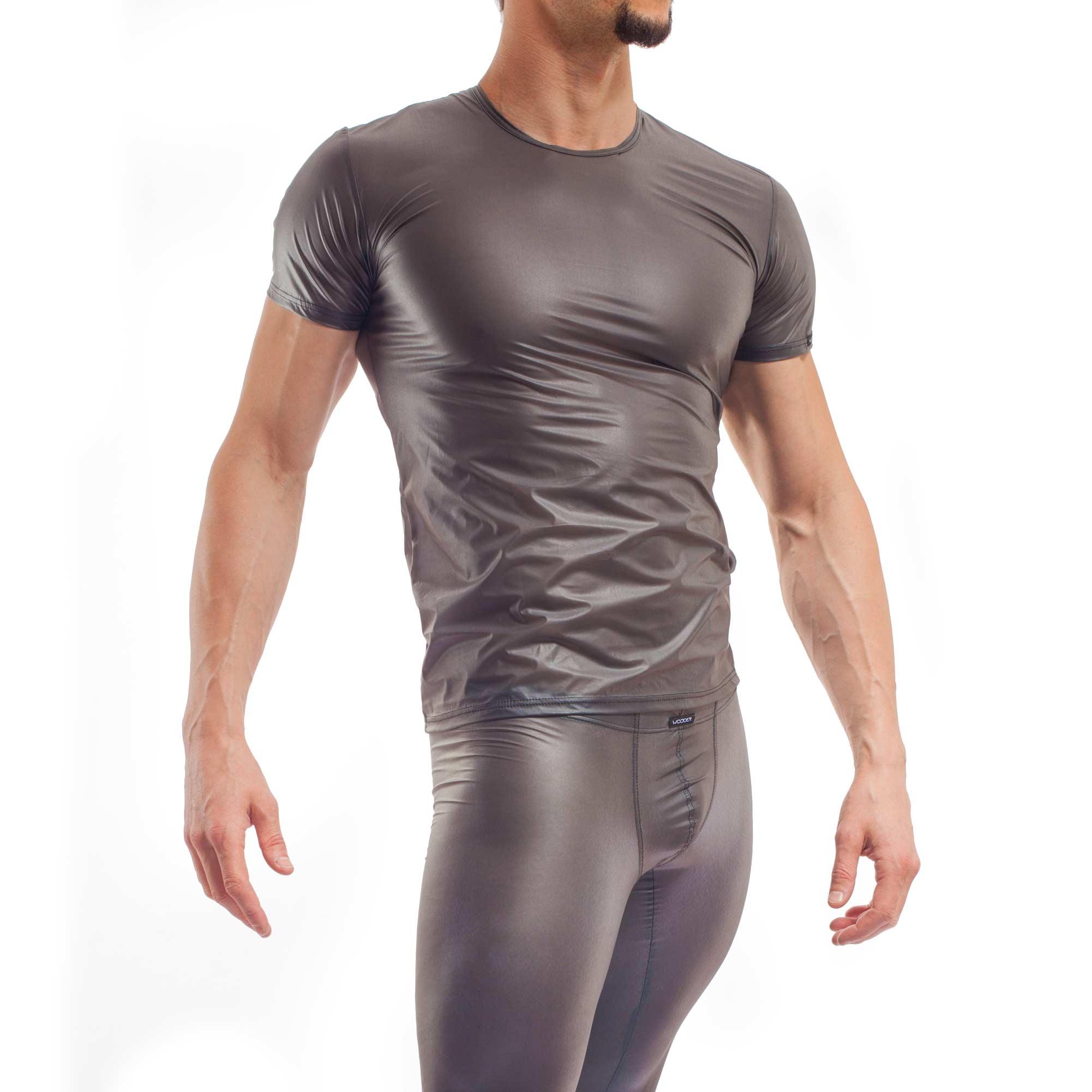 FunXtion schwarz, Synthetischer Latex Shirt, Gummi, transparent, Shirt