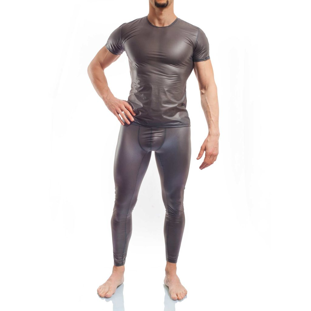 FunXtion schwarz, Synthetischer Latex Shirt, Gummi, transparent, Shirt
