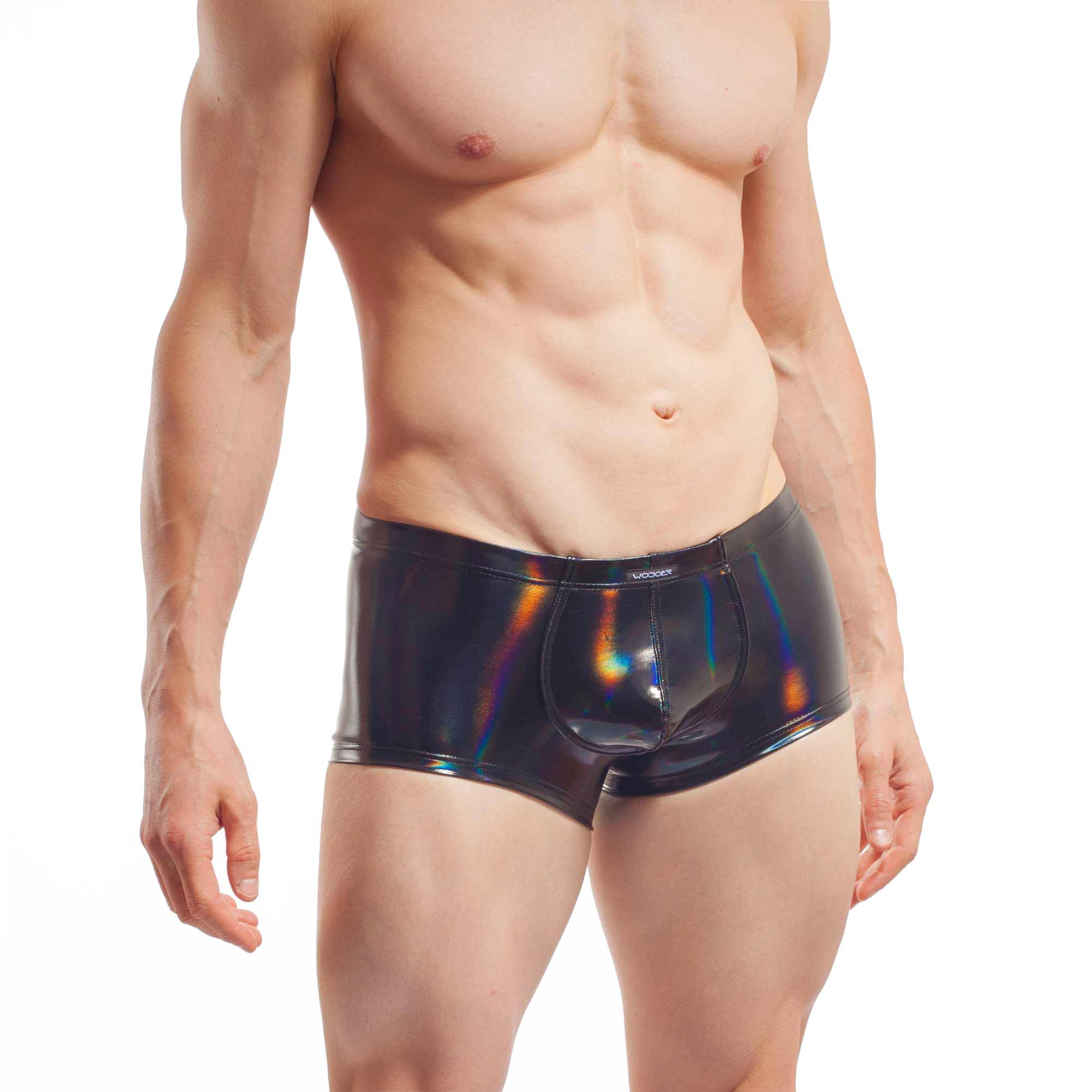 Die Holo Pants holographische Lack Pants 351D426 gehört in die Life-Produktion. Das heißt er wird auf Bestellung produziert und kann so auch individuell bearbeitet werden. Größen Erhältlich in den Größen S, M, L, XL Materialzusammensetzung leicht denhbarer Lack: Polyester 70% Elasthan 3% Polyurethan Besonderheiten LIVE-Produkt |…