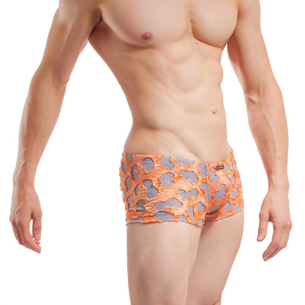 tear up slip, Unterhose, warm, weich, pushup, knackig, sexy, orange, grau, Baumwolle, Viskose