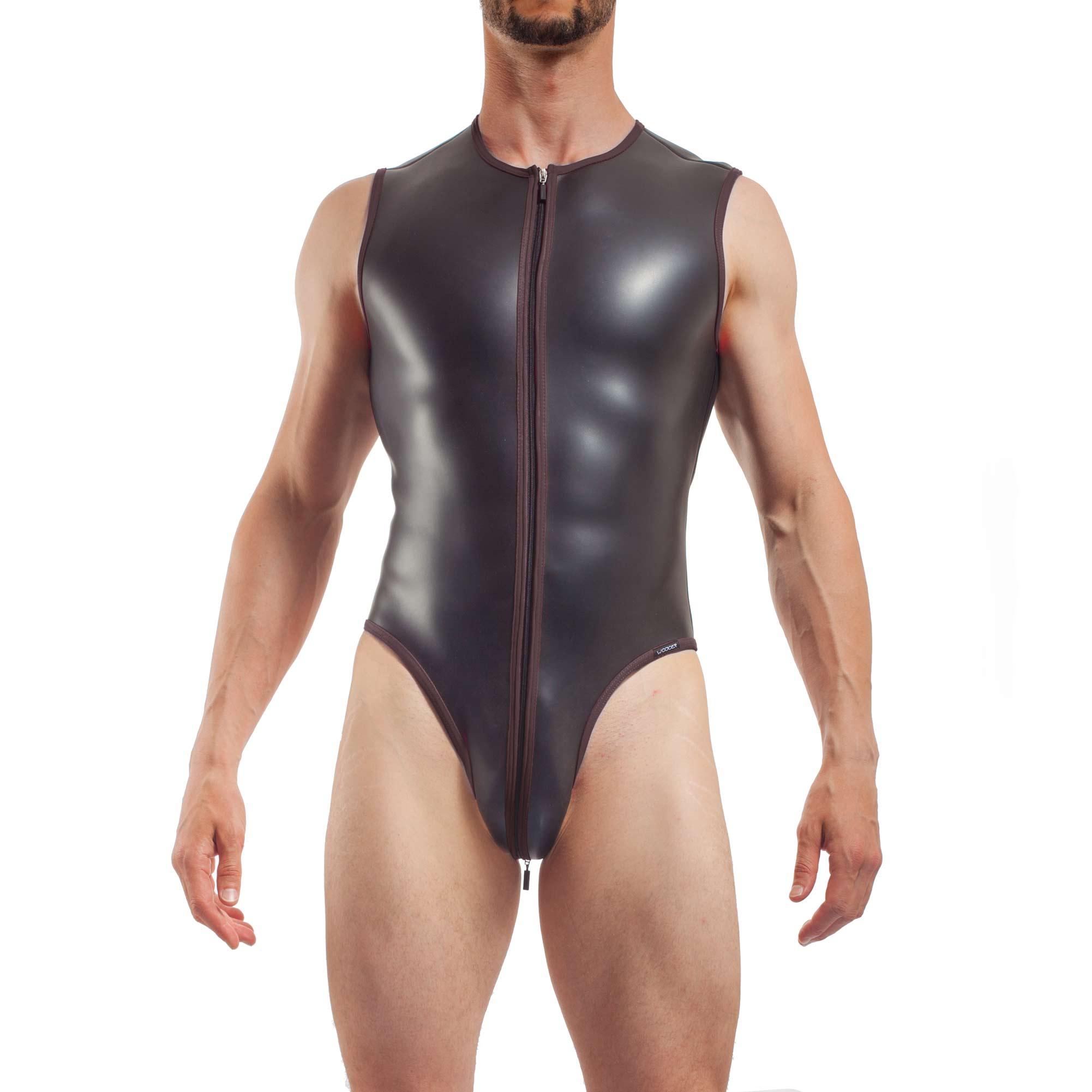 Badeanzug Herren jumpsuite Anzug Body