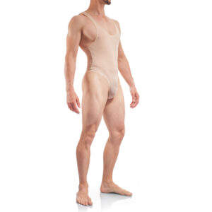 Basic Body Men, Stringbody Nude Herren Badeanzug