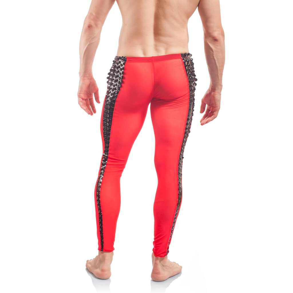 Herren Leggins Lackleggins