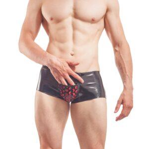 Netz Lack Pants, Lackpants Lackhose Fetisch