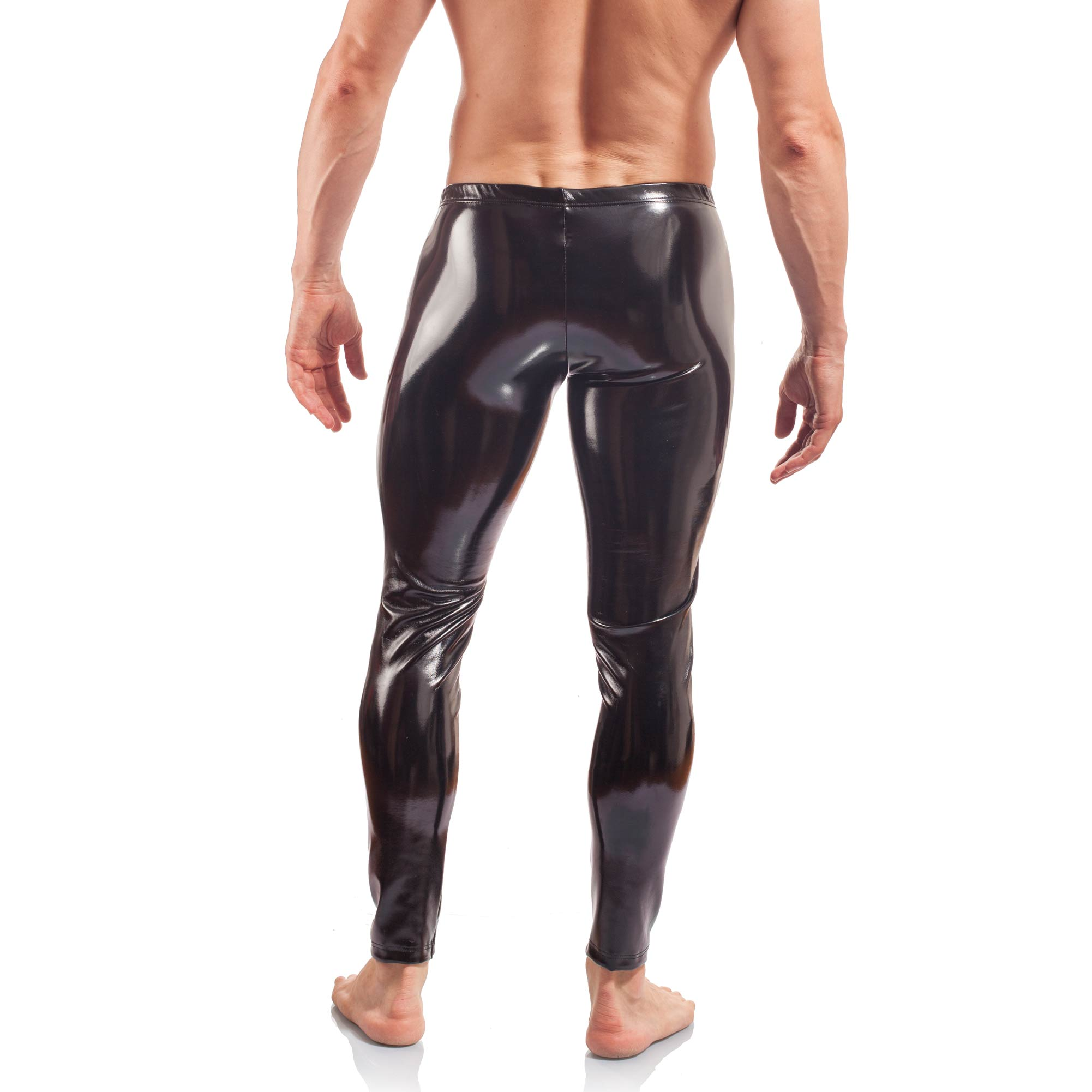 lack leggings man, glossy wet leather leggings, schwarze lack Leggings, Glanzhose, Fetischhose, Rubber Gummi Hose