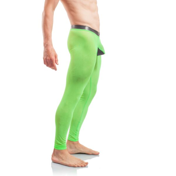 Powerpren Leggings, Powernet, durchsichtig, Pushup, Neopren