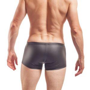 Piercing Pants, mattes Leder, Synlex, schwarz, Leatherlike, eng anliegende Pants