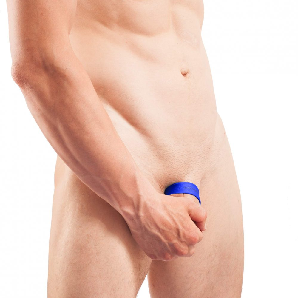 Big thing Ring Push Up Cookring Genitalring, royal blau