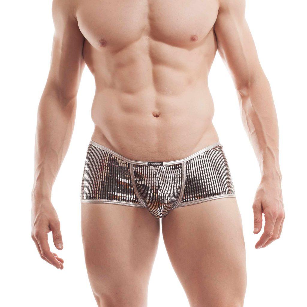 Silver Pants Männer, Michael Jey, Silber Pailletten