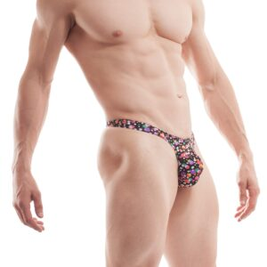 Bubbles, String, Herren, bunt, beachwear, underwear