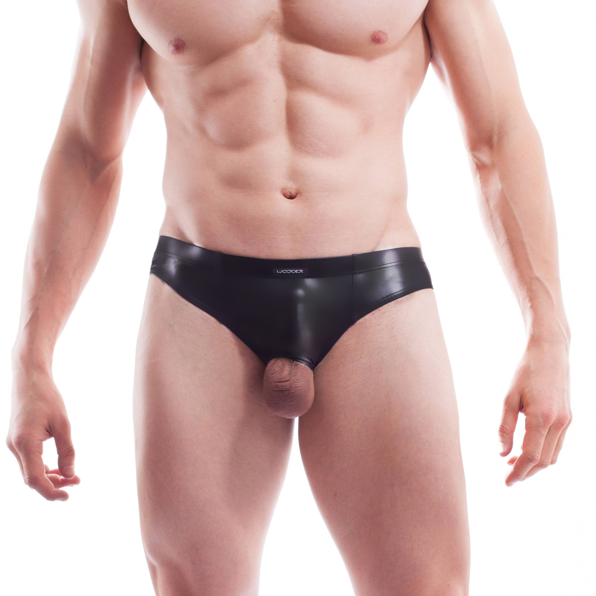 Diesen Wetleather Halb Ouverte Lack Mini Hipster365W449.2 ist ein ganz besonderes Teil – schau selbst… Größe S, M, L , XL Materialzusammensetzung WETLEATHER, super dehnbares, leicht strukturiertes Leatherlike mit Lackglanz: 95% Viskose, 5% Elasthan | 100% Polyester Besonderheiten LIVE-Produkt | glossy, strechy Leatherlike | sehr gut…