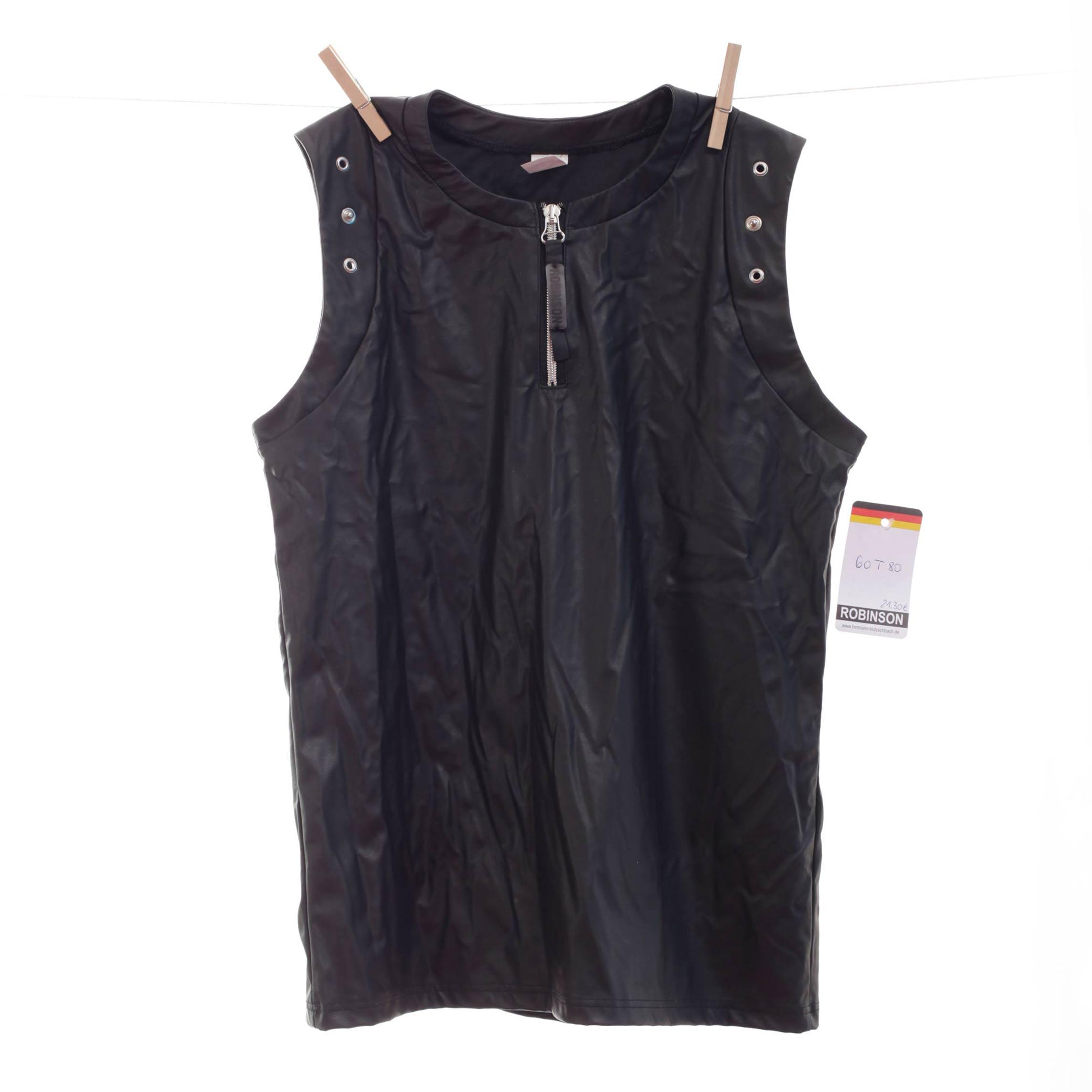 Dieses edle Leatherlike Shirt mit Ösen und Reißverschluss ist ein Only for Me Produkt. Das heißt, es gibt dieses Shirt online nur bei uns – in begrenzter Stückzahl! Also schnell zugreifen. Größen Erhältlich in Größe M Materialzusammensetzung festes Leatherlike: 40% Polyester | 60% Polyurethan Besonderheiten Onlyforme-Produkt…