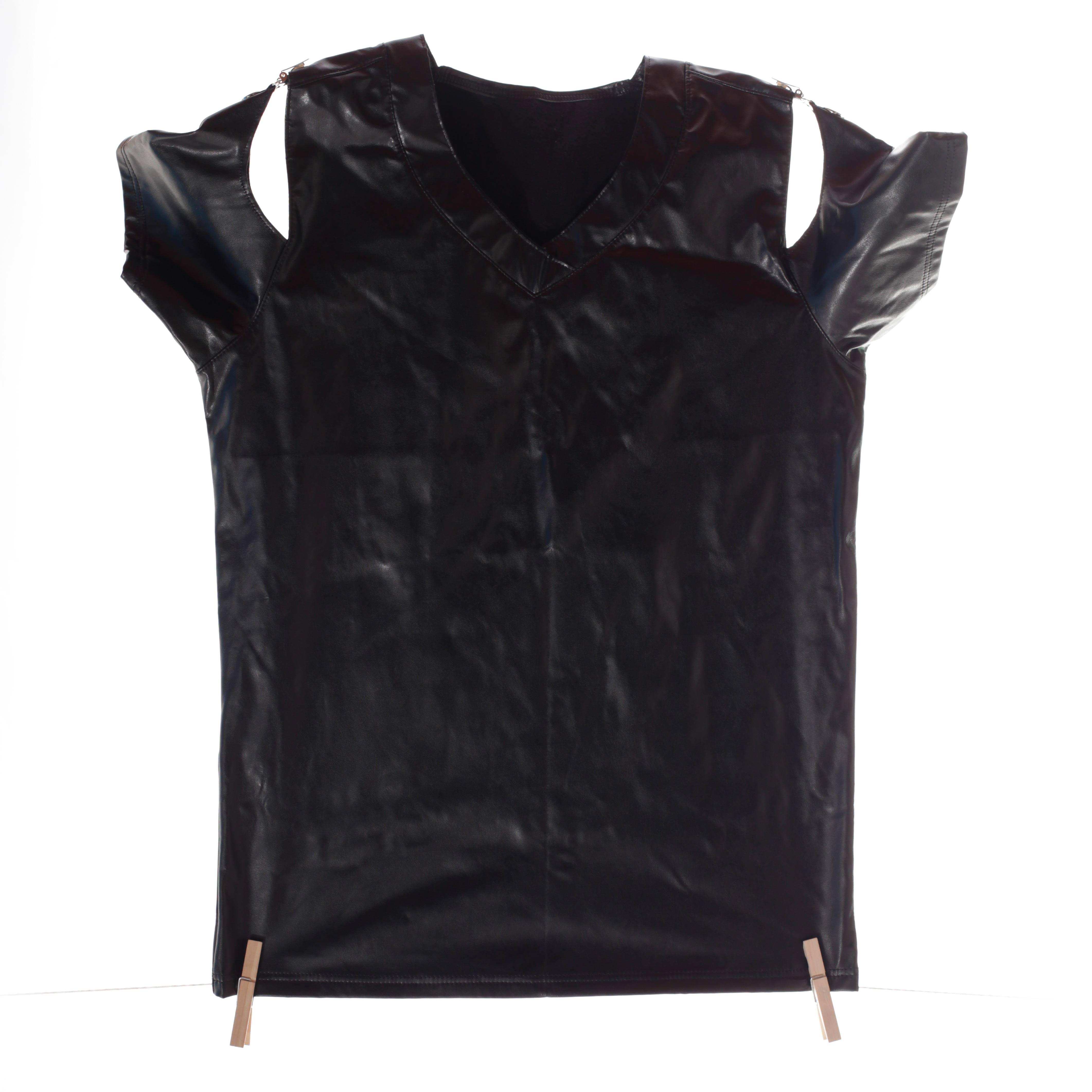 Diese fancy T-Shirt mit Klickverschluss ist ein Only for Me Produkt. Das heißt, es gibt diese online nur bei uns – nur 1x vorrätig! Also schnell zugreifen. Größen Erhältlich in Größe M Materialzusammensetzung festes Leatherlike: 65% Polyester | 35% Polyurethan Besonderheiten Onlyforme-Produkt | figurbetonter Schnitt |…