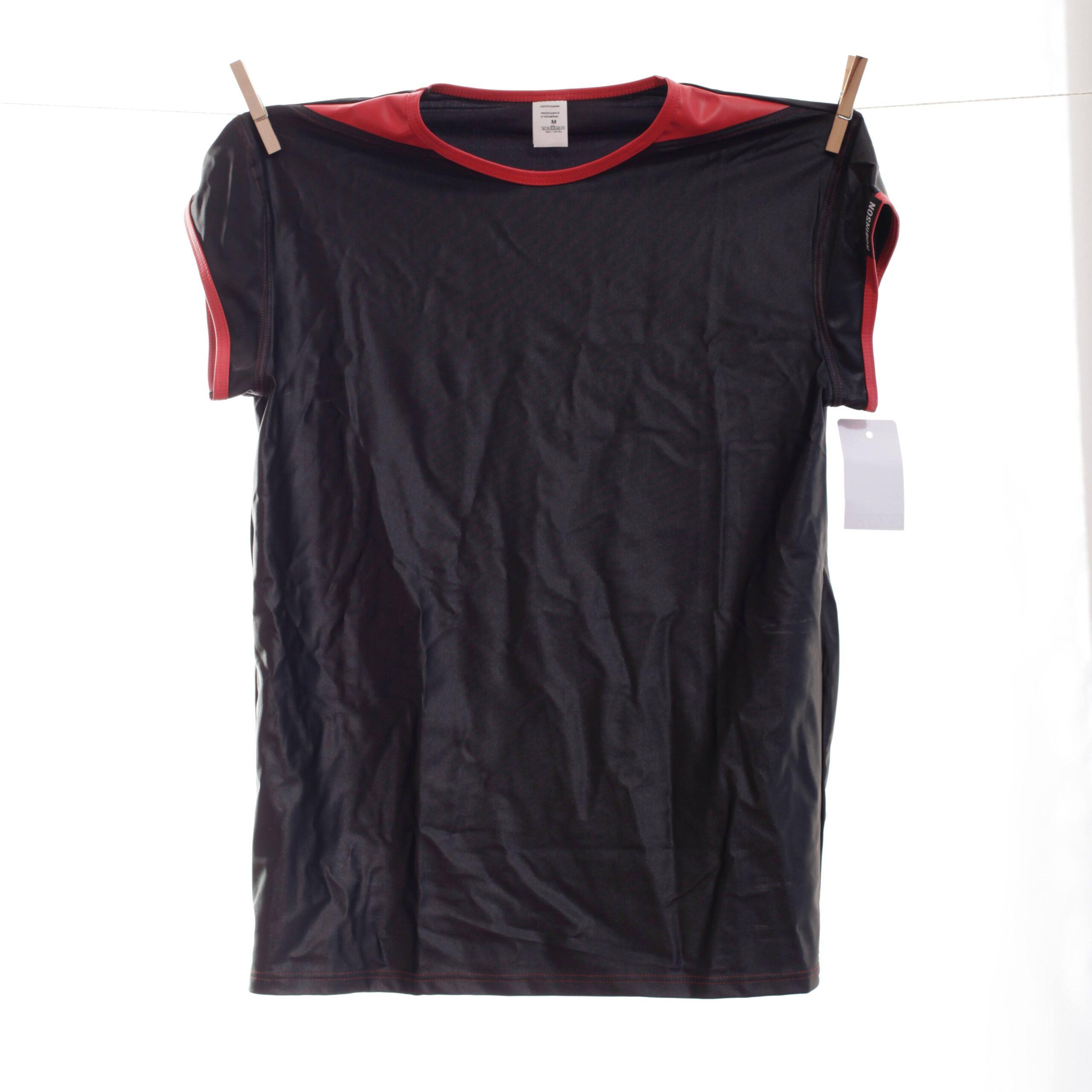 Diese One-Of-Edition ist nur begrenzt erhältlich, denn das Redback Letherlike T-Shirt gehört zu den Wojoer ONLY FOR ME-Produkten.  Größen  Erhältlich in den Größen M Materialzusammensetzung 100% Polyester | Wetlook: 79% Polyamid 21% Elasthan Besonderheiten ONLY FOR ME Produkt| individueller look | matt glänzende Oberfläche | festes,…