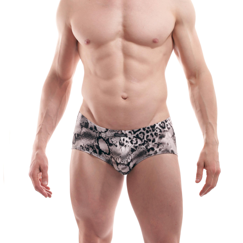 Die LeoSnake Hipster Pants 388W459 gehört zu den Wojoer LIVE-Produkten. Sie werden ab Bestellung bei uns produziert. So können wir auf Kundenwünsche individuell eingehen. Größen Erhältlich in den Größen S, M, L, XL Materialzusammensetzung 96% Polyester, 4% Elasthan Besonderheiten LIVE-Produkt | hoher Schnitt | elastisch mattes…