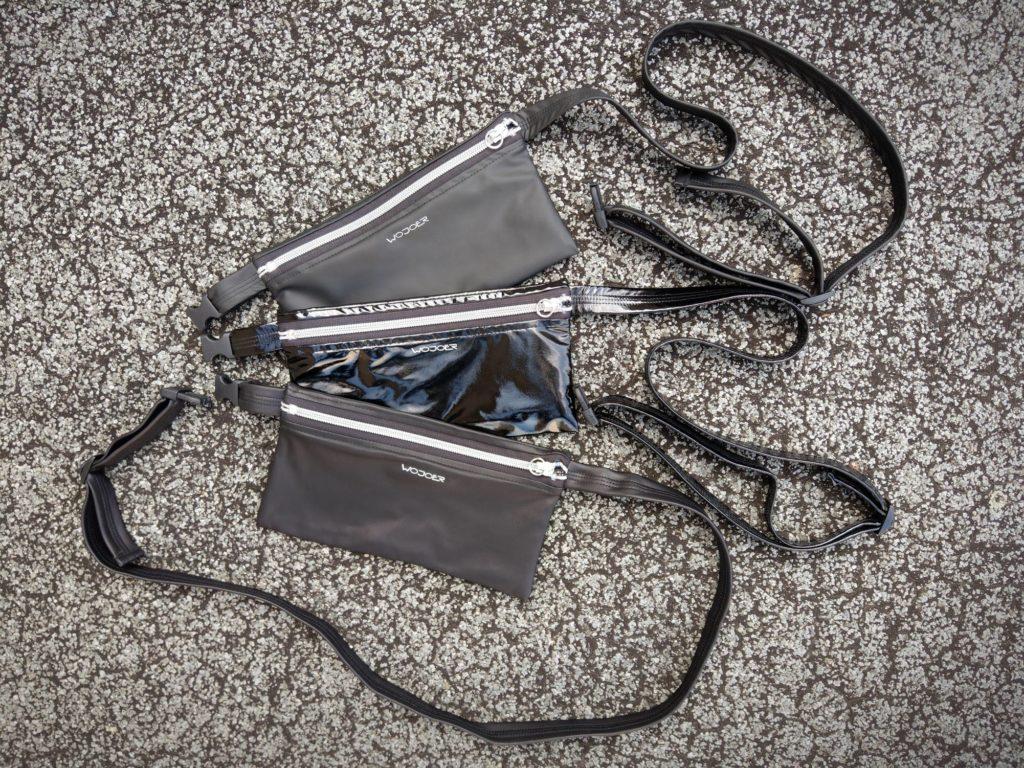 wojoer, belt bag, leatherlike bag, varnish bag, club bag, handy bag, smartphone case