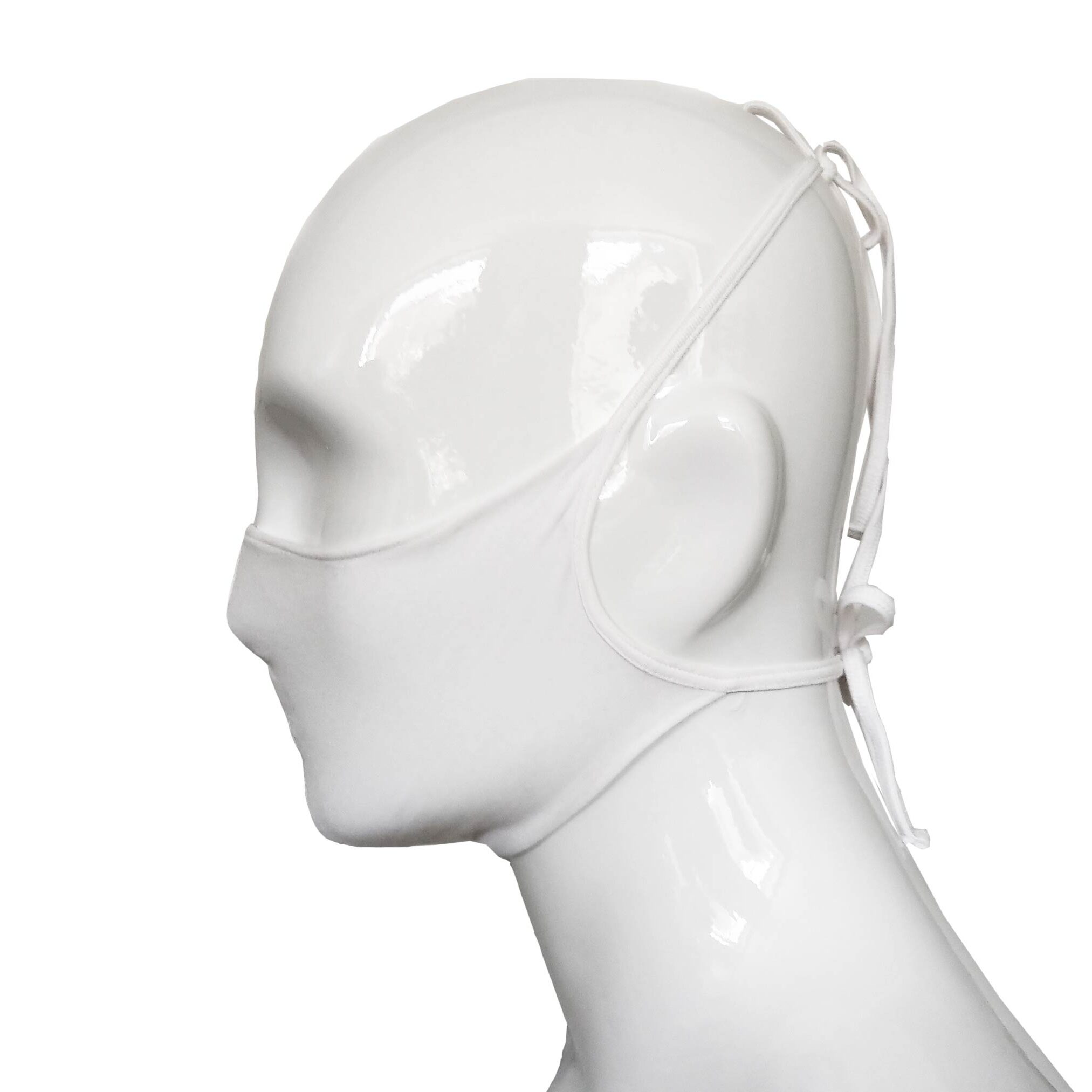 Baumwoll 2-Lagen Mund-Nasen-Maske mit Nasenbügel – einzeln