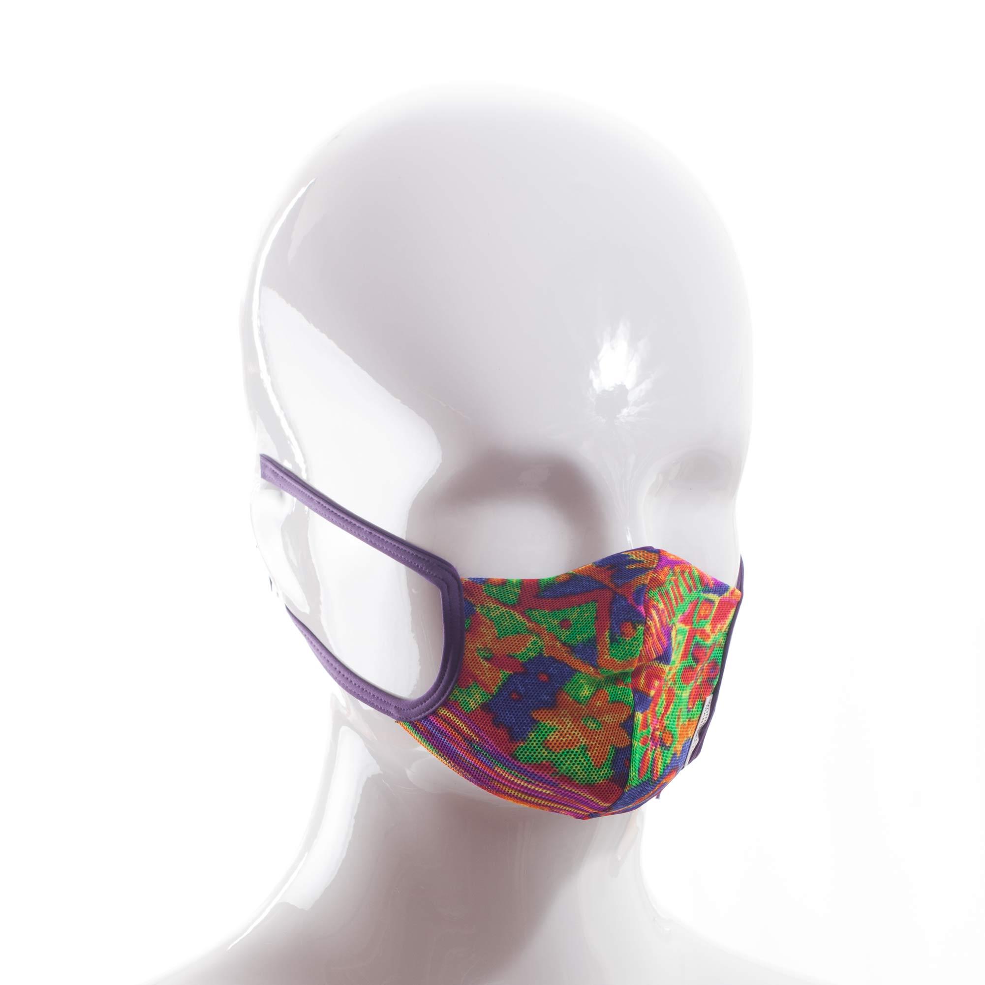 Die Baumwoll-Polyester Mund-Nasen Maske BWPM4.1KidsSommer von der Wonneberger Manufaktur ist eine textile Behelfsmaske, kein zertifizierter Mundschutz.  Sie schützt nur bedingt vor Ansteckung. Ihr eigentlicher Zweck ist es, den Atem des Trägers zu filtern und dadurch seine Umgebung zu schützen. Daher muss die…
