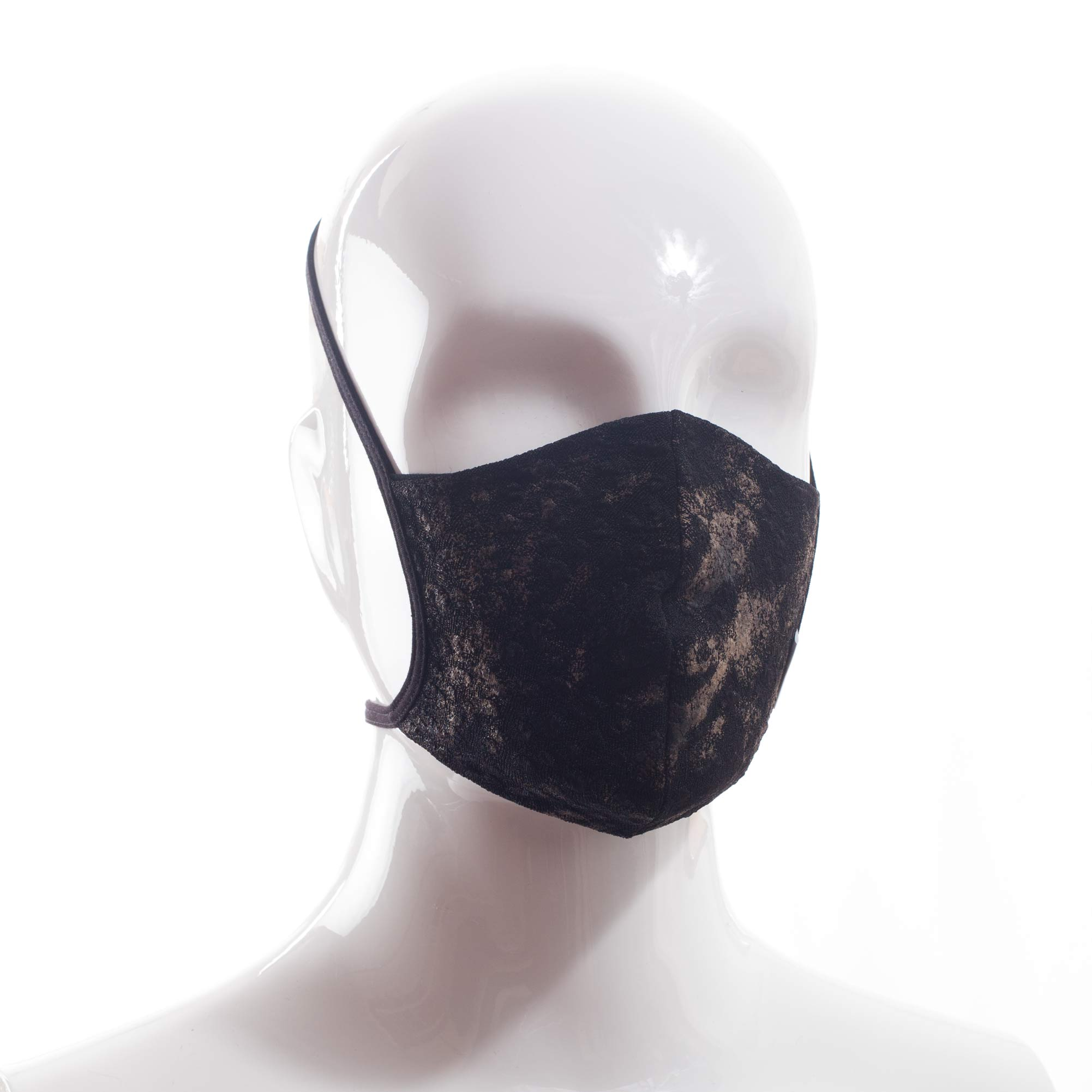 Die Baumwoll-Polyester Mund-Nasen Maske BWPM4AntikGold von der Wonneberger Manufaktur ist eine textile Behelfsmaske, kein zertifizierter Mundschutz.  Sie schützt nur bedingt vor Ansteckung. Ihr eigentlicher Zweck ist es, den Atem des Trägers zu filtern und dadurch seine Umgebung zu schützen.  Daher muss die…