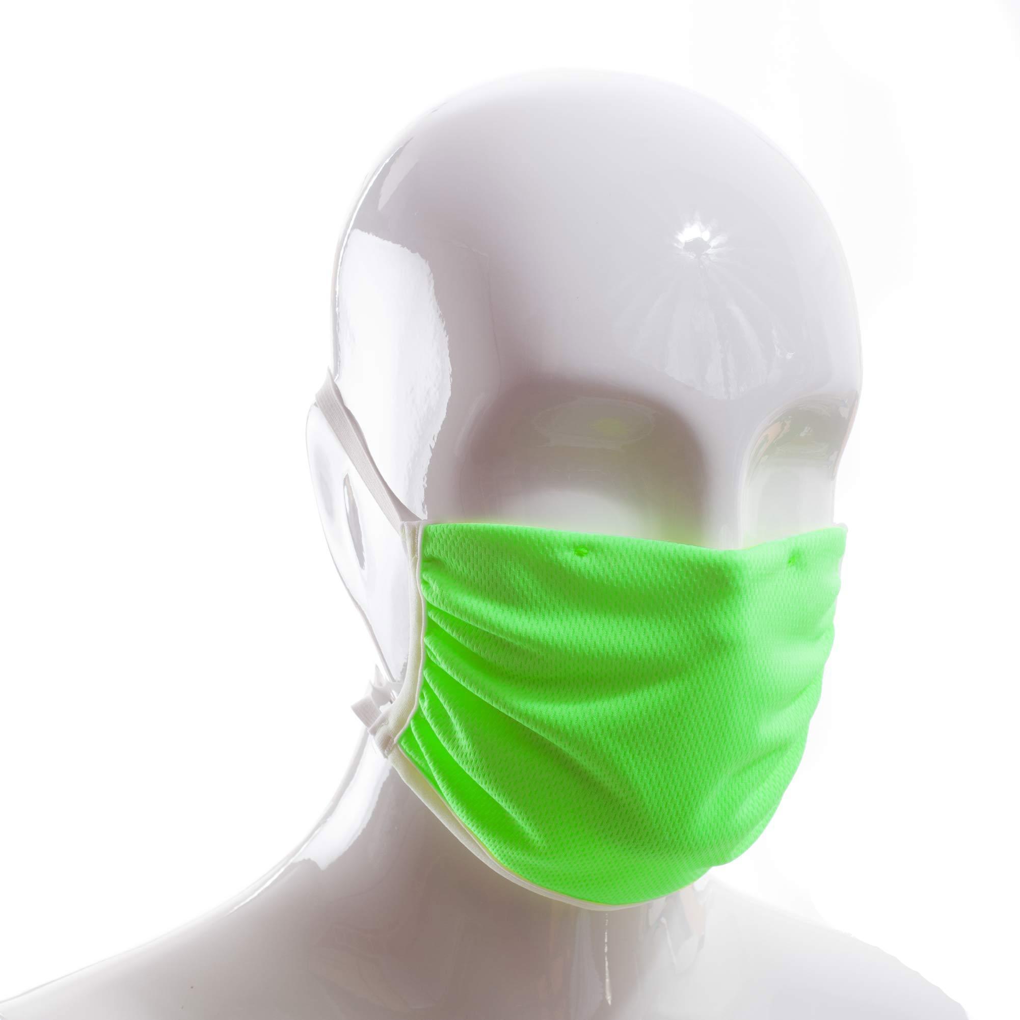 Die Polyester Mund-Nasen Maske CXM5g von der Wonneberger Manufaktur ist eine textile Behelfsmaske, kein zertifizierter Mundschutz.  Sie schützt nur bedingt vor Ansteckung. Ihr eigentlicher Zweck ist es, den Atem des Trägers zu filtern und dadurch seine Umgebung zu schützen.  Daher muss die…