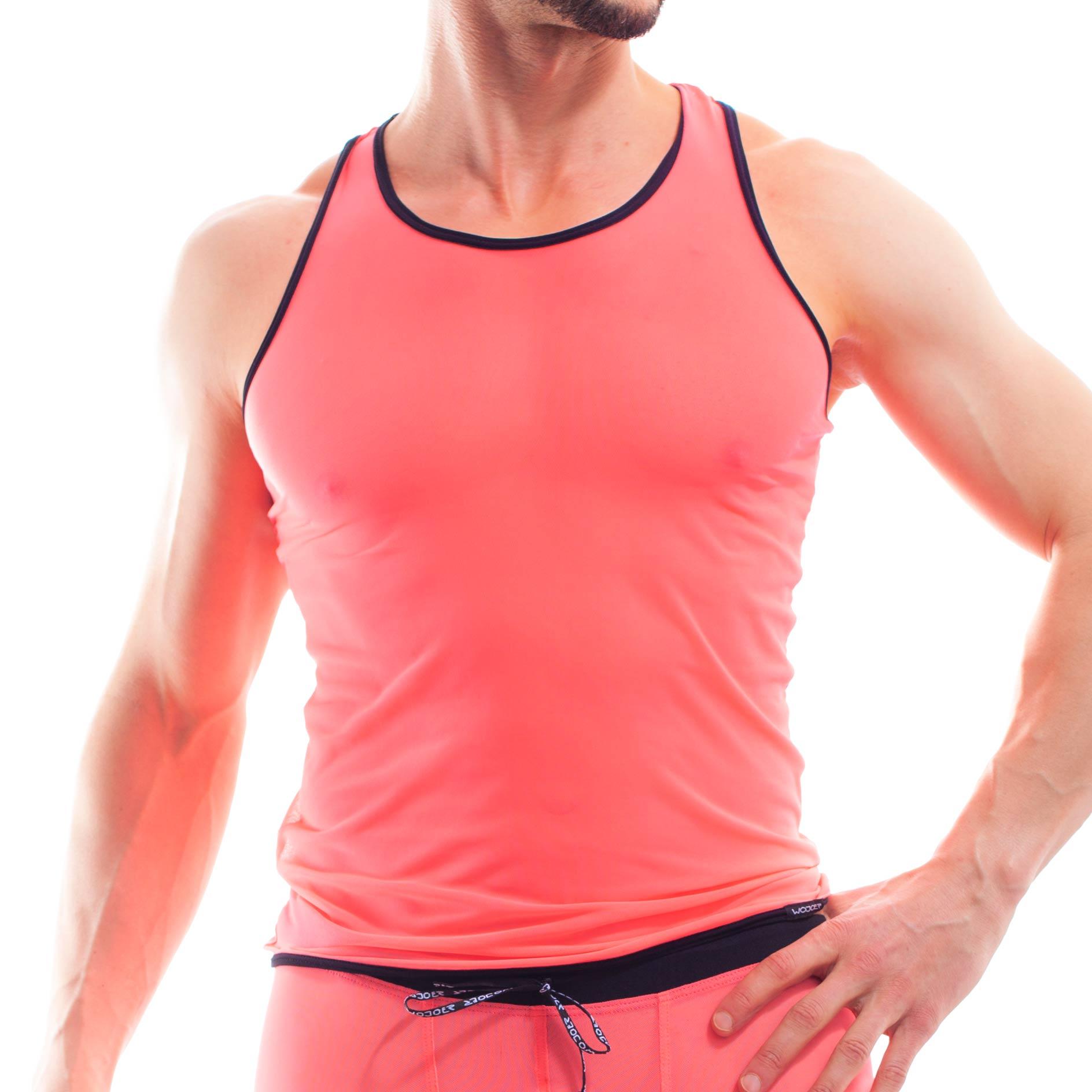 Die Coral Net Muscel Shirt 393T272 gehören zu den Wojoer LIVE-Produkten. Sie werden ab Bestellung bei uns produziert. So können wir auf Kundenwünsche individuell eingehen. Größen Erhältlich in den Größen S, M, L, XL Materialzusammensetzung 94% Polyester | 6% Elasthan | 82% Polyamid |…